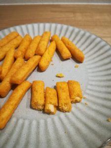 チーズインスティック 明太チーズ中身2