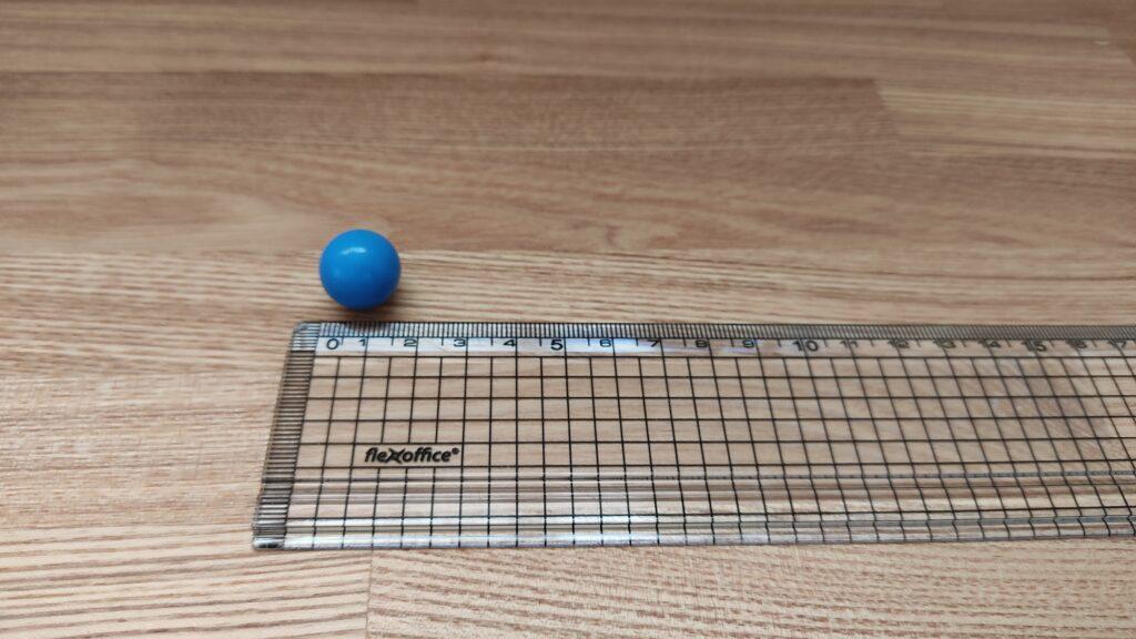 ボールの大きさ